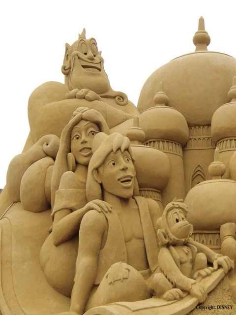 Photo credit: Sand Sculpting Australia