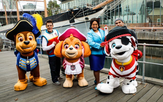 Image credit: Paw Patrol Live! Launch Event 3rd May 2018 - Polly Woodside Melbourne