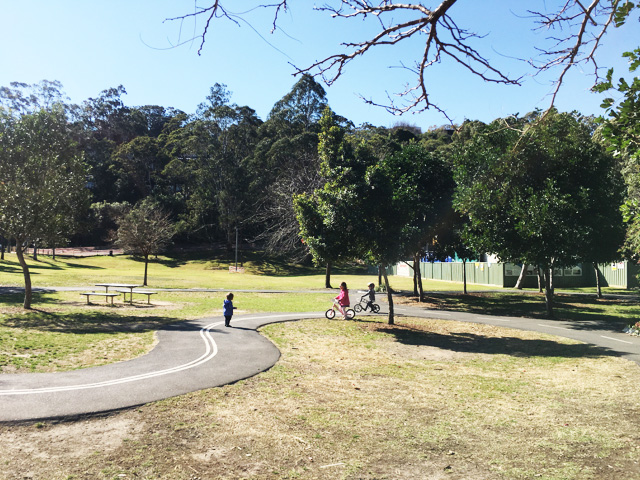 Brightmore Reserve Bike Track - Cremorne - Review - Busy City Kids