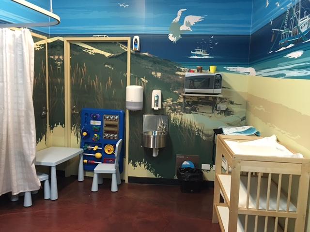 Sealife Melbourne Aquarium - In Front of Rockpools - Ground Level