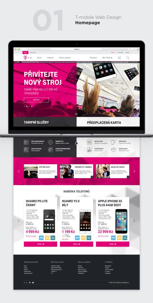 Web Design T Mobile David Holik