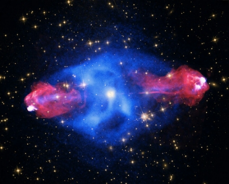 Credit: X-ray: NASA/CXC/SAO; Optical: NASA/STScI; Radio: NSF/NRAO/AUI/VLA