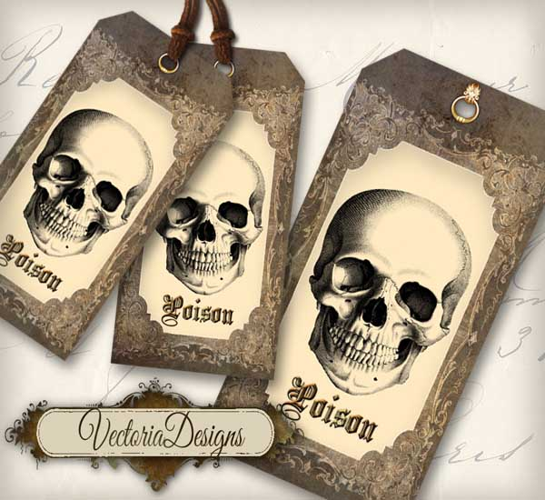 Poison Tags - 1 design