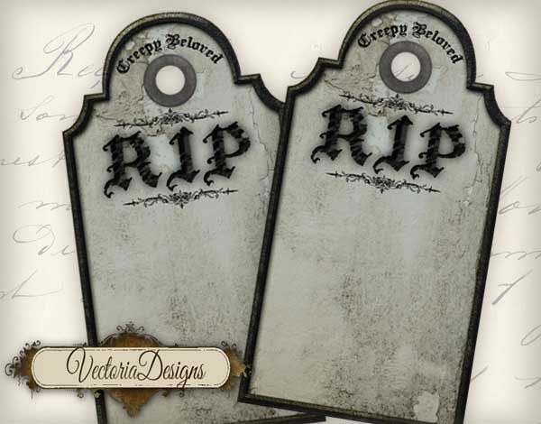 Tombstone Tags