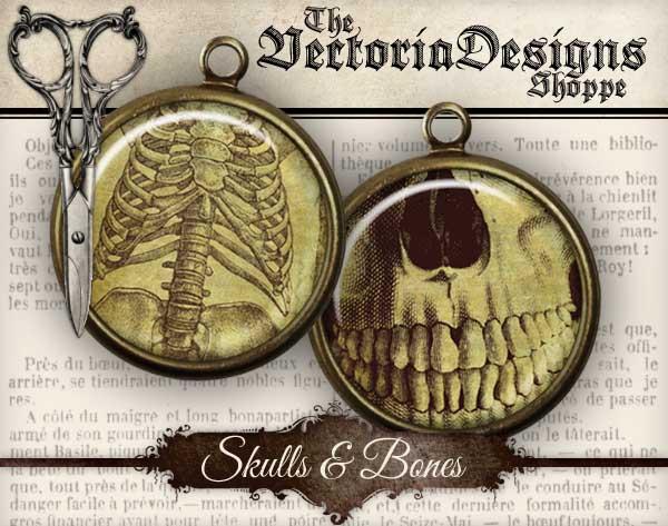 Skulls and Bones Circles