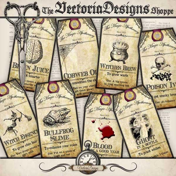 VDTAHA0940 Halloween Apothecary Tags shopify promo 1.jpg