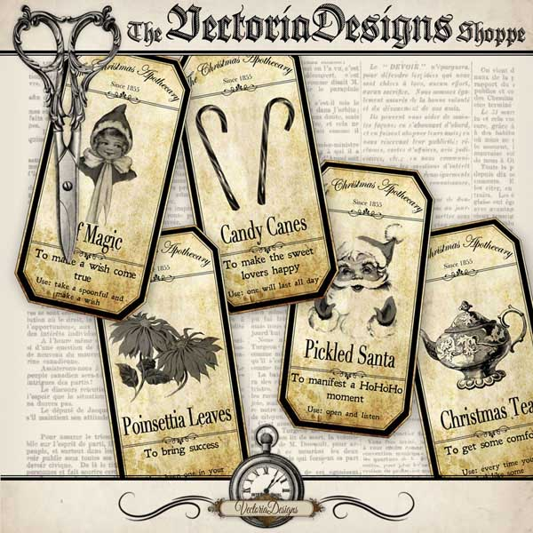 VD0591 christmas apothecary labels shopify promo 3.jpg
