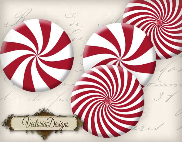 VD0559 Christmas Peppermint cupcake toppers promo 5.jpg