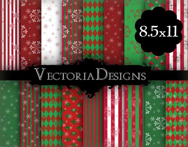 VD0511 Christmas Snow Papers 8.5x11 promo 1.jpg