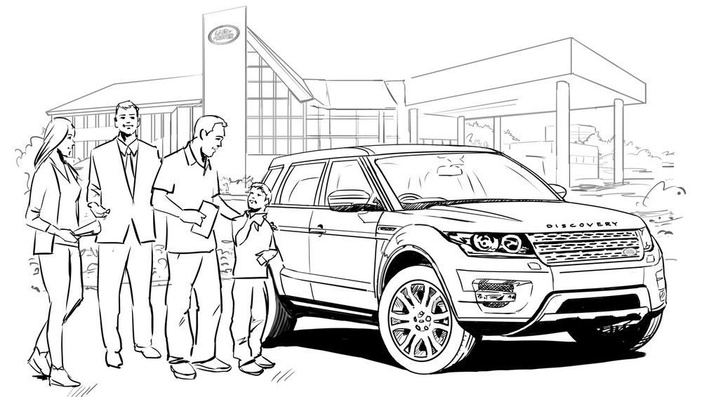 Dealership storyboard