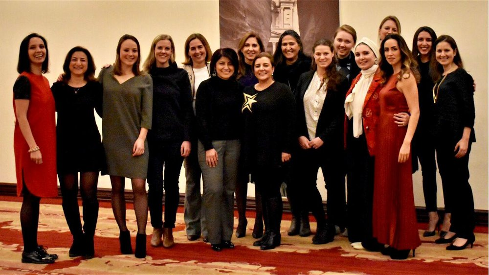 On January 14th, C-Change organised an exploration dinner at the Landmark Hotel in Amman where we brought together a group of women leaders to shape our vision and model for  WomenLed2030 . Hosted by Mary Nazzal-Batayneh, Founder of Landmark Hotels and Partner at 17 Asset Management, we discussed the potential of a global network for women leaders in sustainability, and the vision and needs for a Jordanian chapter.