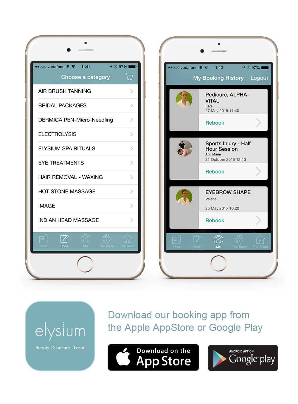 elysium iphone app