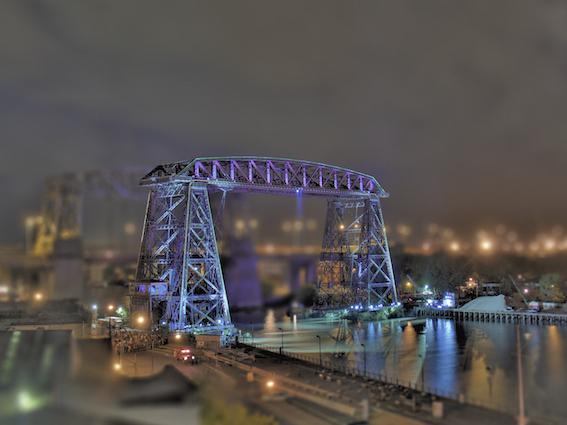 Puente Trasbordador Nicolas Avellaneda, 2008