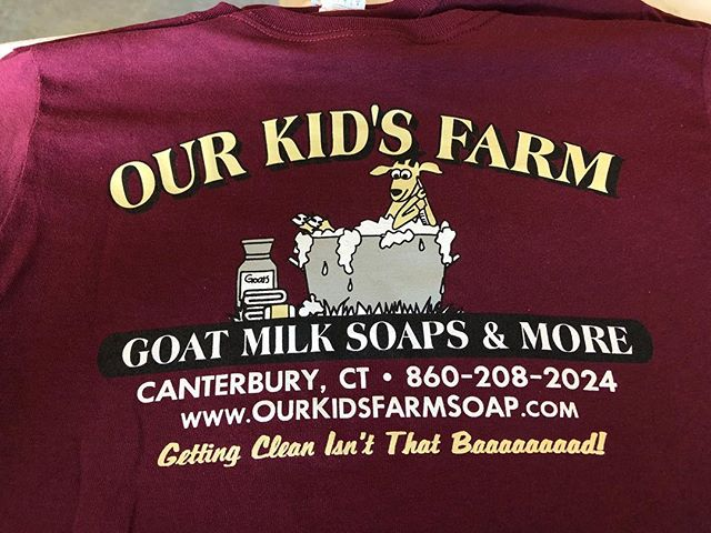 🐐🐄🐑 need shirts for your farm? Email sales@Thelemic printshop.com • • • • #screenprinters #screenprinting #ink #shirts #merch #tees #farm #goat #soap #kids #animals #supportlocal #shoplocal