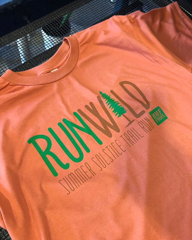 Run Wild. #screenprinters #screenprinting #ink #merch #shirts #running #summer #solstice #marathon #hartford #connecticut #americanapparel