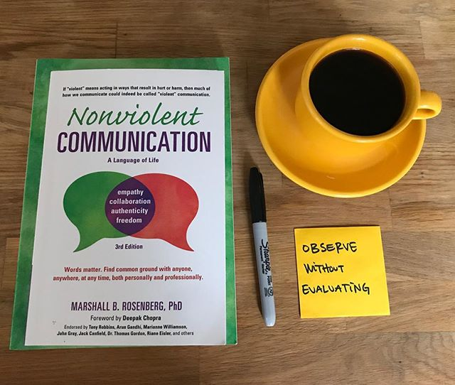 sunday morning study // communicate your feels! sharing observations, emotions, and requests for change are essential skills we should all be practicing #RightSpeech