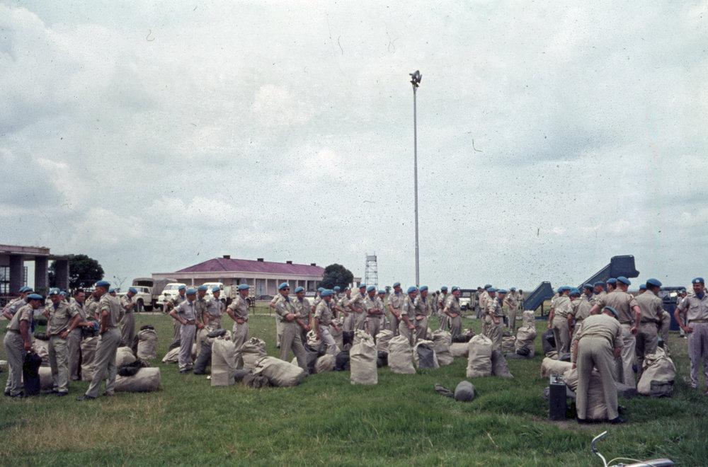 Hemfärd 11 maj 1964 från Luluabourg.