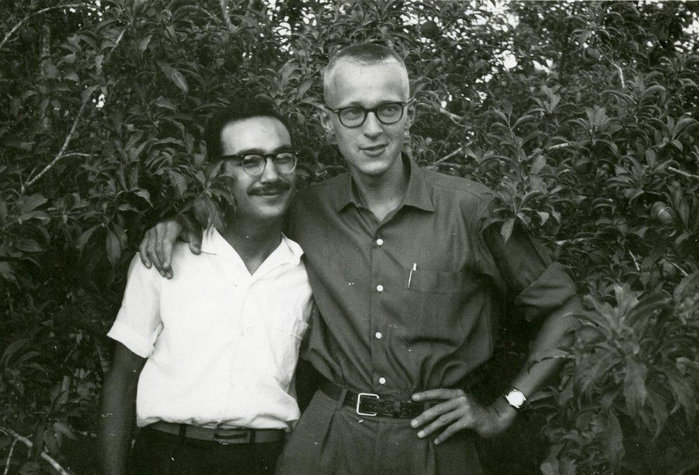 Salah tillsammans med Per-Åke Strandin