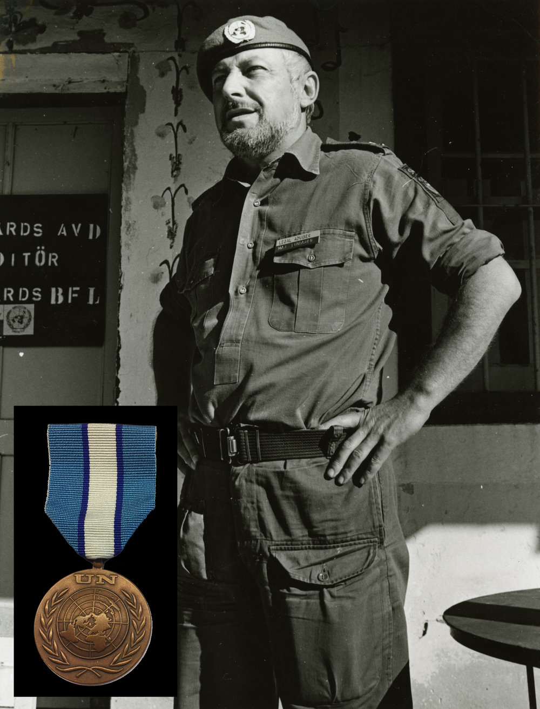 Major Lars Lundgren. Bataljon 85C.