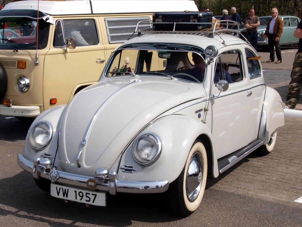 Volkswagen 1200. Årsmodell nära tjänstgöringstiden i Gaza 1959. Foto: AlfvanBeem. Creative Commons.
