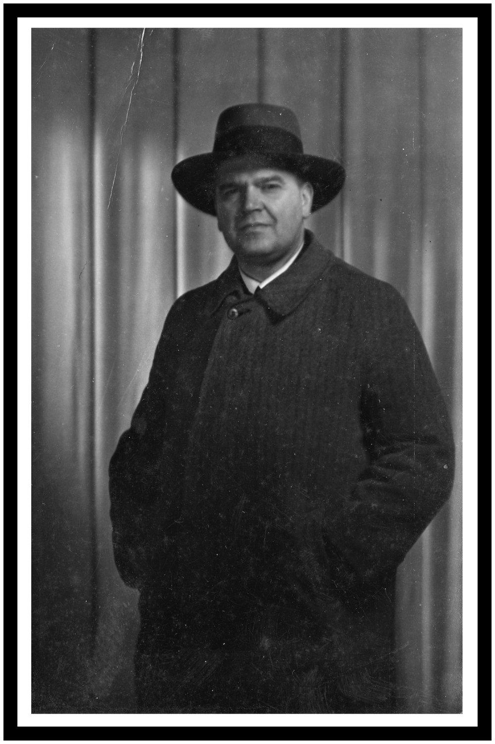 Gösta Lundin, foto från Fredsarkivet