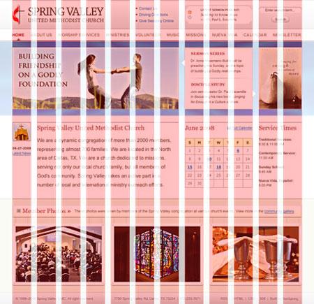 Retícula 960 de 12 columnas