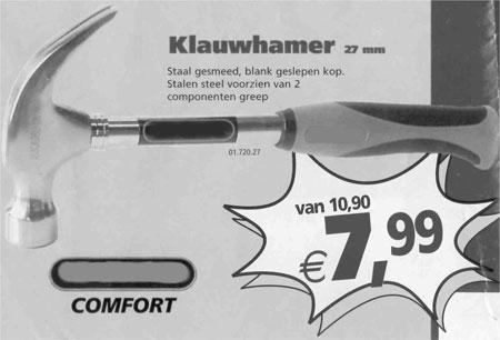 Comfort hammer