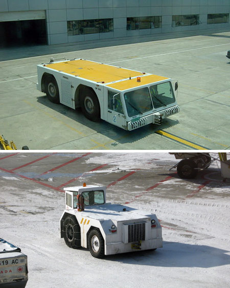 Airport vehicles: Form follows function