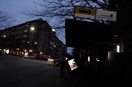 Bus Stop Helsinki, Finland