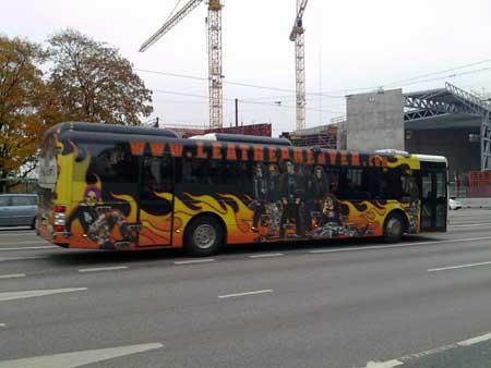 Hell Bus. Helsinki