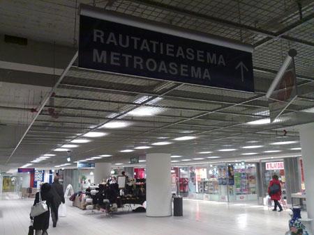 Rautatieasema, Helsinki. Finland
