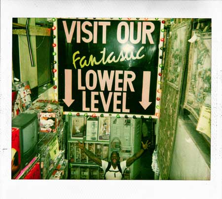 Visit our lower level!
