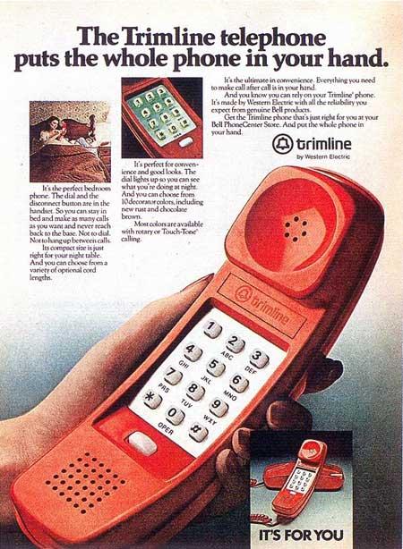 Teléfono Góndola. Telefónica de España.