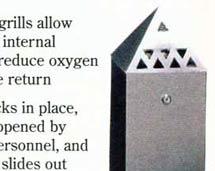 Cenicero piramidal