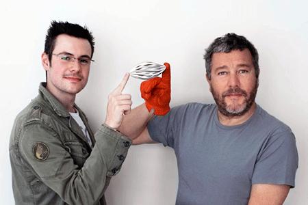 Philippe Starck and Roland Kreiter