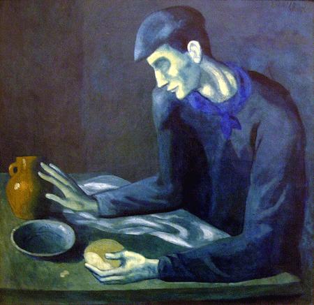 Picasso: La comida del hombre ciego