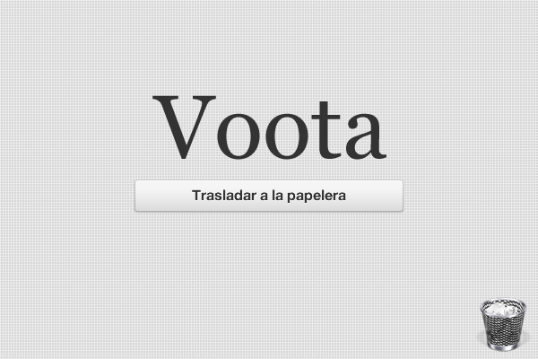 Cerramos Voota.es / Voota.cat