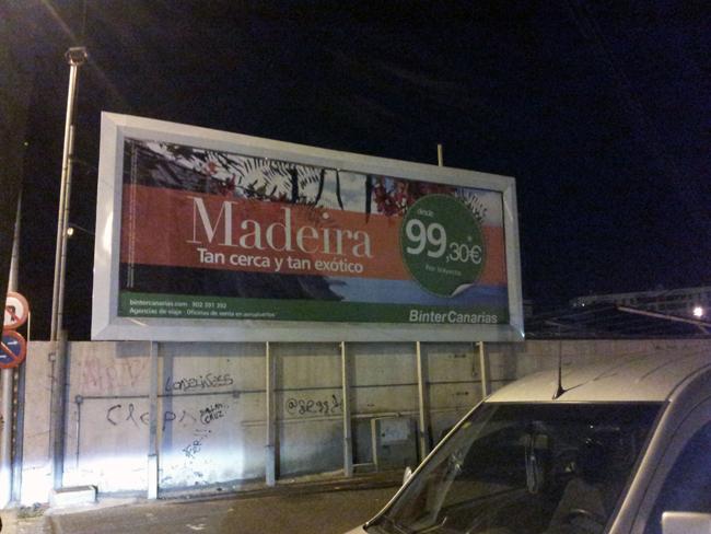 Vuelos a Madeira desde 99'30€. La promesa.