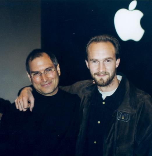Bas Ording y Steve Jobs. La madre de todas las entrevistas
