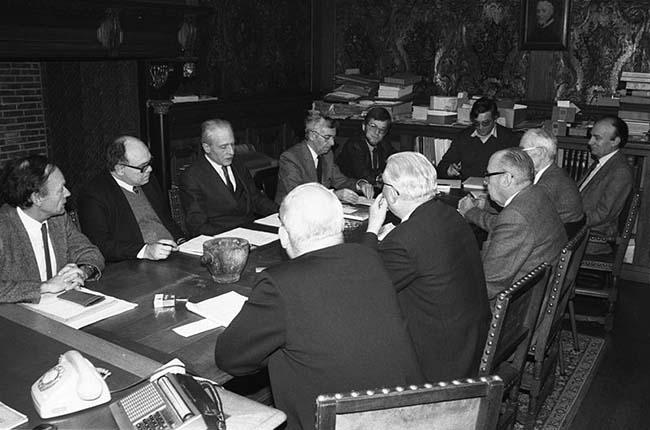 La reunión del día anterior