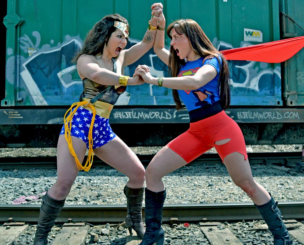 Models: Cindy Suarez and Jessica Foard