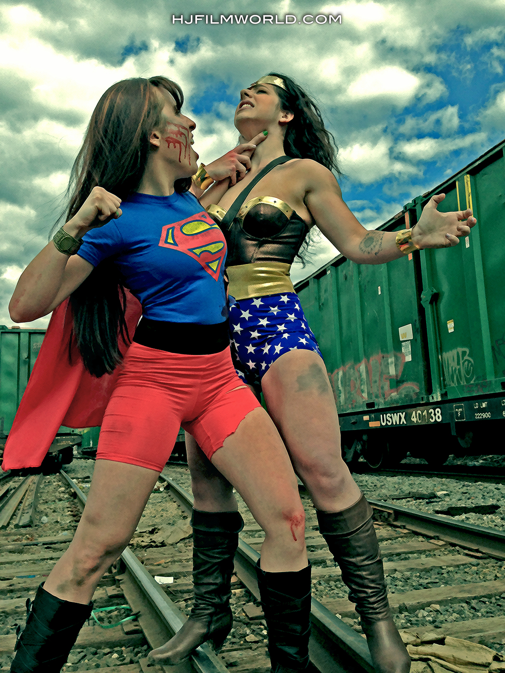 Models: Cindy Suarez and Jessica Foard