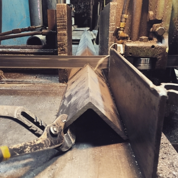 Cutting steel for the canopy