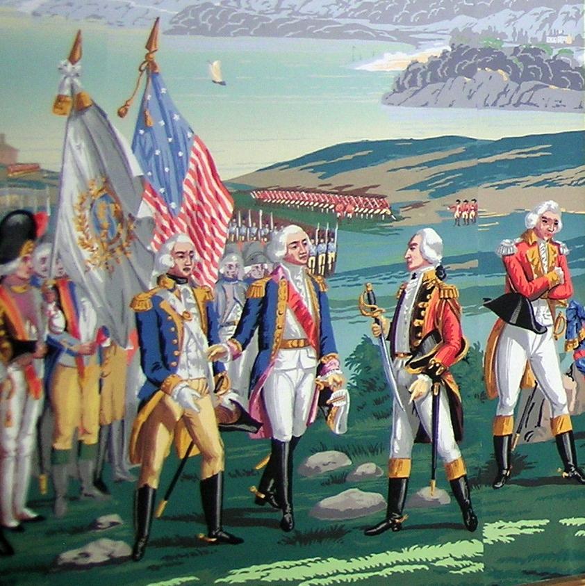 La Guerre de l'indépendance Américaine          (War of Independence)