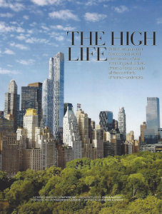 "January-February 2016    Veranda, ""The High Life""    Designer: Cathy Kincaid    Zuber Les Lointains"