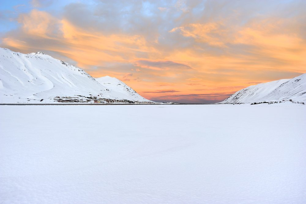 The town of Siglufjordur in Iceland. Photo © Sigurður Ægisson