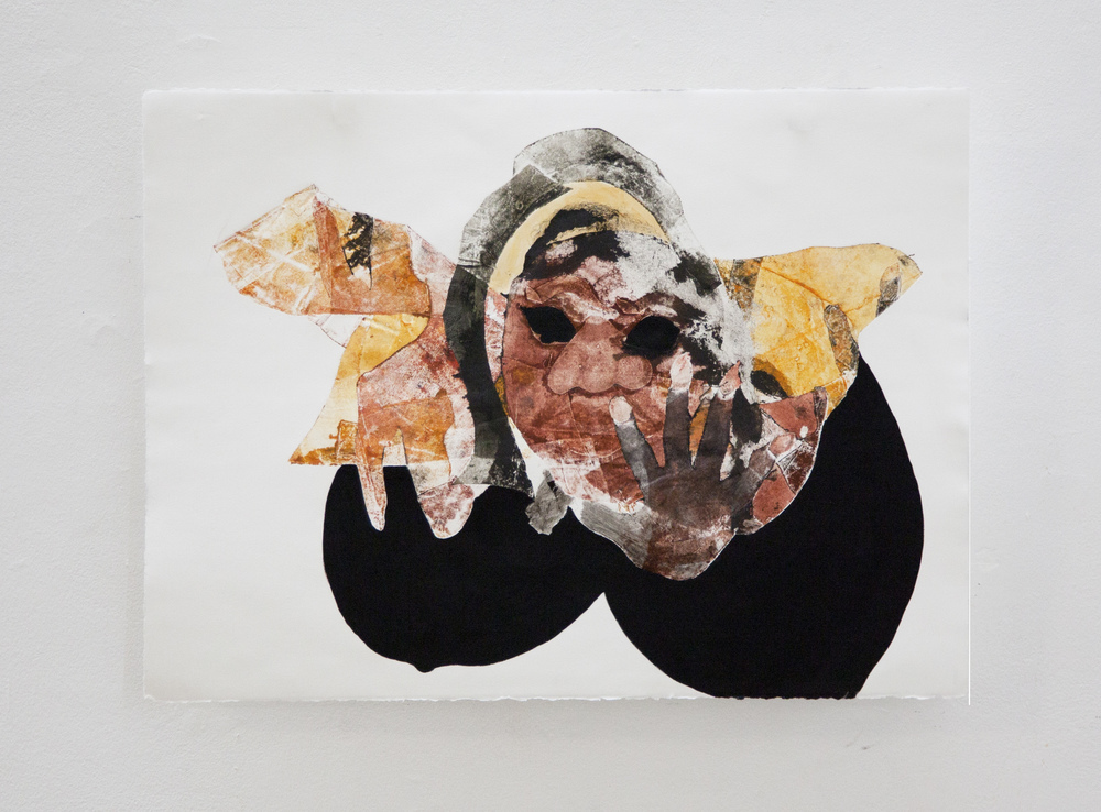 In Touch, 2014 Oil on paper 30.5″ x 22″
