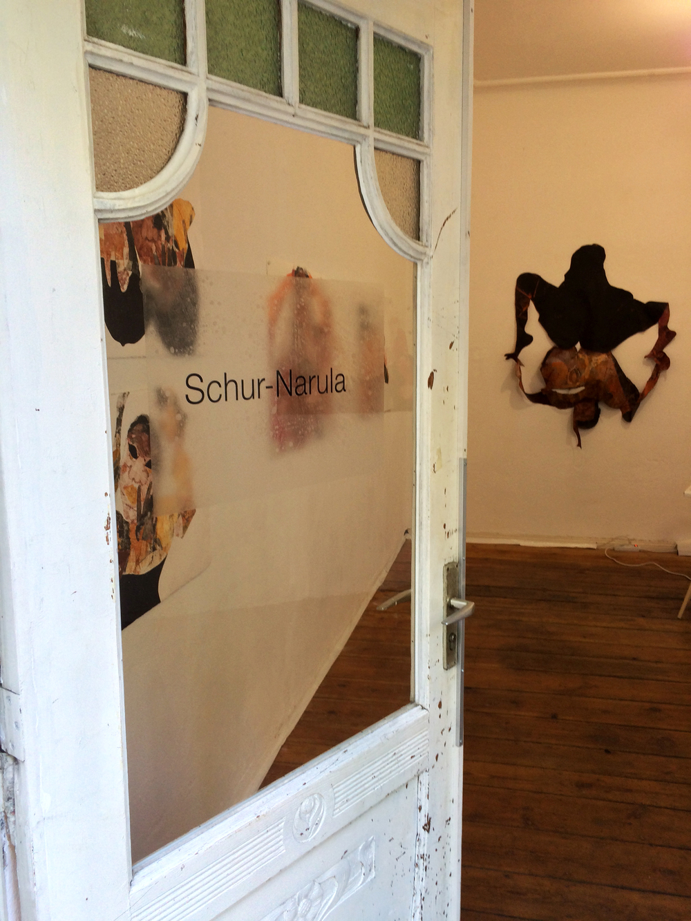 Tschabalala Self  Head Over Heels  Installation view