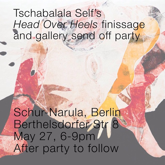 Stop by this evening for the closing of our last show in Berlin #tonight #berlin @tschabalalaself