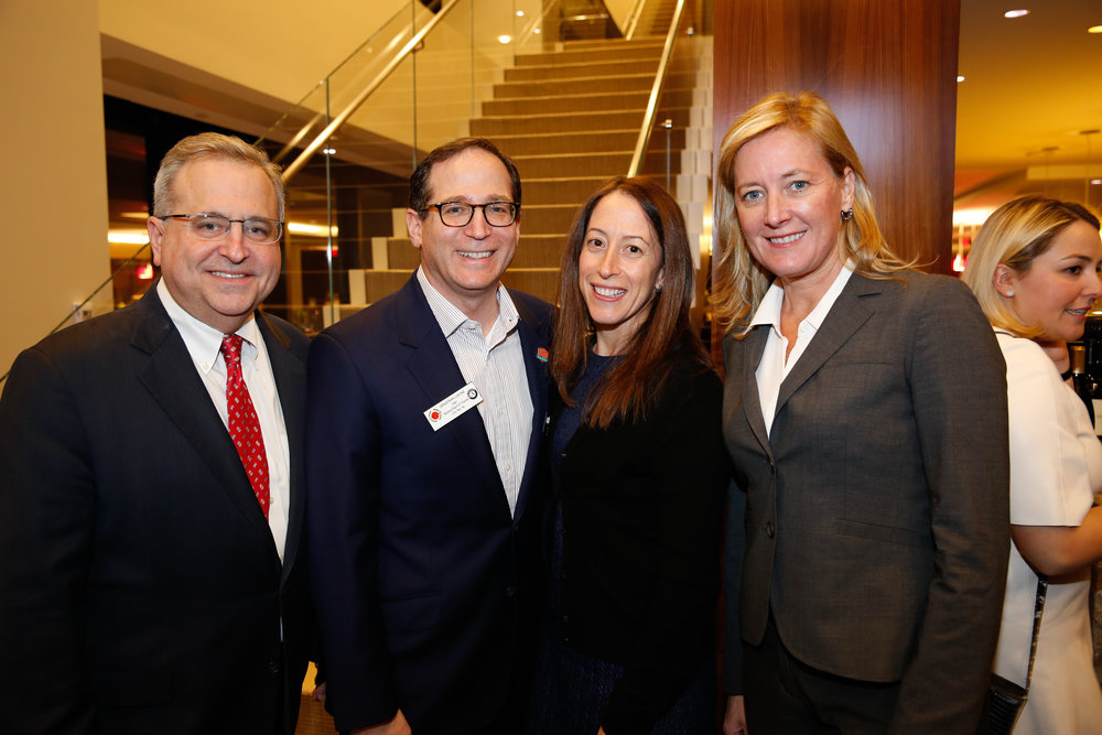 Michael Brown, Jonathan Lavine, Sally Dournas and Meredith DeWitt at the Bain Capital Reception